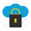 Locked Cloud Locked Connection Icon