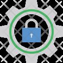 Locked Cog Icon