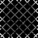 Locked computing Icon