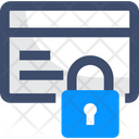 Locked Credit Card Icon