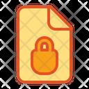 Locked Document Icon