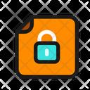 Locked Private Password Icon