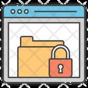 Locked Folder Locked Archives Secure Folder Icon