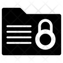 Locked Folder Folder Security Data Safety Icon