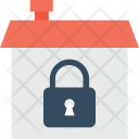 Locked House Security Icon