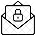 Locked Mail Secure Mail Mail Protection Icon