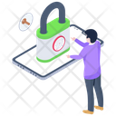 Phone Protection Phone Lock Phone Security Icon