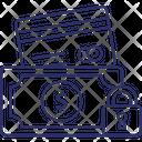 Locked Money Money Protection Safe Money Icon