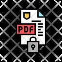 Locked Protection Pdf Icon