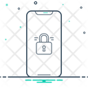 Locked Phone Icon