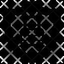 Protection Locked Shield Antivirus Icon