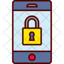 Locked Smartphone Secure Icon