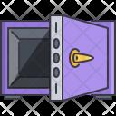 Locker Safe Bank Icon