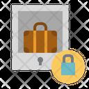 Locker Luggage Storage Icon