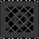 Bank Deposit Locker Icon