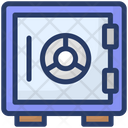 Safe Box Bank Locker Bank Vault Icon