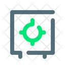 Box Deposit Safe Icon