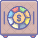 Money Deposit Safe Icon
