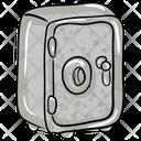 Locker Digital Locker Bank Vault Icon