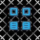 Locker Safe School Icon