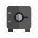 Safe Deposit Box Security Safety Icon