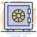 Locker Vault Save Money Icon