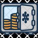 Deposit Money Safe Icon