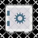 Locker Safe Security Box Icon