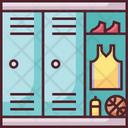Locker Locker Room Basketball Icon