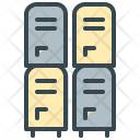 Locker Safety Security Icon