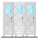 Locker Cabinet Furniture Icon
