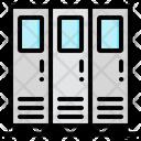 Locker Cabinet Furniture Icon