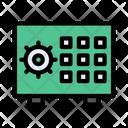 Vault Locker Strongbox Icon