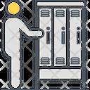 Locker Locker Roon Locker Area Icon