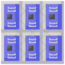 Furniture Locker Security Icon