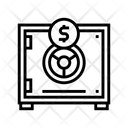 Safe Security Equipment Icon