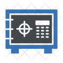 Locker Vault Security Icon