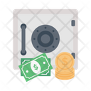 Locker Security Money Icon