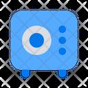 Locker Vault Safety Icon