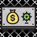 Save Box Banking Finance Icon