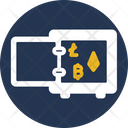Locker Bitcoin Locker Money Icon