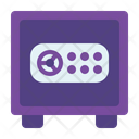 Locker Safe Box Coin Icon