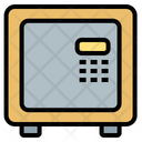 Money Security Safety Box Icon