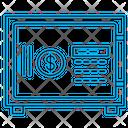 Bank Money Safe Icon