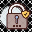 Locker Pad Lock Verified Lock Icon