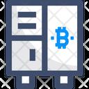 Locker Bitcoin Locker Bitcoin Safe Icon