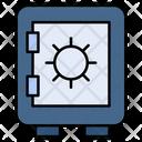 Locker Vault Safe Icon