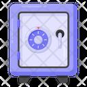 Vault Locker Safety Locker Icon