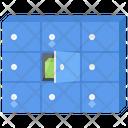 Safe Box Key Icon