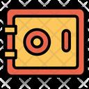 Safe Vault Lock Icon